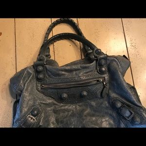 Balenciaga Blue classic city pocketbook